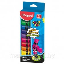 "Гуашь Maped ""Colorpep'S"" 12 цветов"