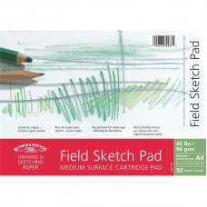 "Альбом А3 на спирали Winsor & Newton ""Field sketch pad"""
