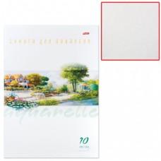 """Папка для акварели HATBER """"Пейзаж"""", А4, 210х295 мм, 10 л., 200 г/м2"""