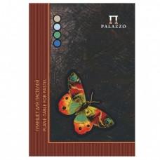 """Папка для пастели/планшет Palazzo """"Бабочка"""", А4, 210х297 мм, 20 л. тонированная бумага 200 г/м2, склейка, 4 цв."""