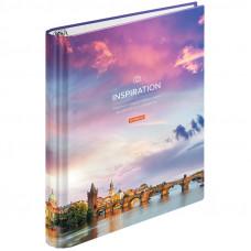 """Тетрадь на кольцах А5, 120л., 7БЦ, ArtSpace """"Путешествия. Sky landscape"""", глянцевая ламинация"""