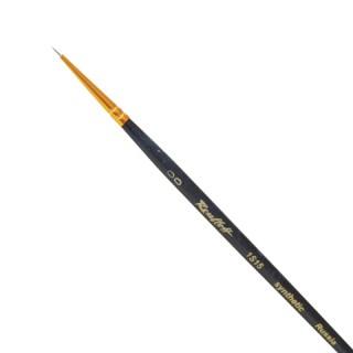 Кисть художественная ROUBLOFF (Рублев), синтетика, жесткая, круглая, № 00, короткая ручка