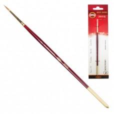 Кисть художественная KOH-I-NOOR колонок, круглая, №2, короткая ручка