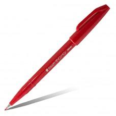 """Фломастер-кисть Pentel """"Brush Sign Pen"""", красный"""