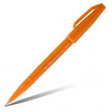 """Фломастер-кисть Pentel """"Brush Sign Pen"""", оранжевый"""