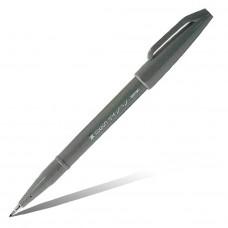 """Фломастер-кисть Pentel """"Brush Sign Pen"""", серый"""
