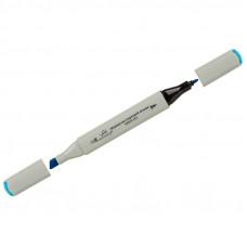 """Маркер для творчества двухсторонний Vista-Artista """"Style"""" цвет G346 лазурно-синий, пулевидный/скошенный, 0,7мм/1-7мм"""