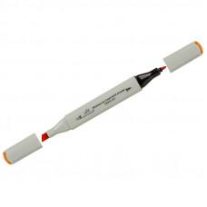 """Маркер для творчества двухсторонний Vista-Artista """"Style"""" цвет J171 ярко-оранжевый, пулевидный/скошенный, 0,7мм/1-7мм"""