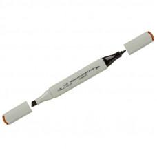 """Маркер для творчества двухсторонний Vista-Artista """"Style"""" цвет J180 шоколадный, пулевидный/скошенный, 0,7мм/1-7мм"""
