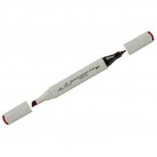 """Маркер для творчества двухсторонний Vista-Artista """"Style"""" цвет K254 бордовый, пулевидный/скошенный, 0,7мм/1-7мм"""