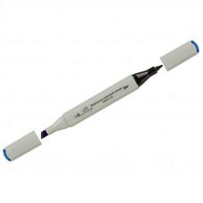 """Маркер для творчества двухсторонний Vista-Artista """"Style"""" цвет G340 ультрамарин, пулевидный/скошенный, 0,7мм/1-7мм"""