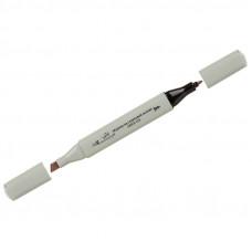 """Маркер для творчества двухсторонний Vista-Artista """"Style"""" цвет S486 серый теплый 1, пулевидный/скошенный, 0,7мм/1-7мм"""