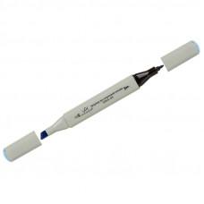"""Маркер для творчества двухсторонний Vista-Artista """"Style"""" цвет G329 небесно-голубой, пулевидный/скошенный, 0,7мм/1-7мм"""