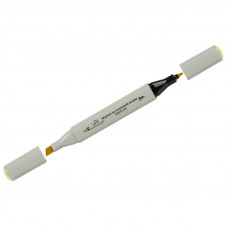 "Маркер для творчества двухсторонний Vista-Artista ""Style"" цвет J103 канареечно-желтый, пулевидный/скошенный, 0,7мм/1-7мм"