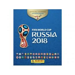 Альбом Panini ЧЕМПИОНАТ МИРА ПО ФУТБОЛУ FIFA 2018 с 15 наклейками
