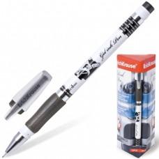 """Ручка гелевая ERICH KRAUSE """"ROBOGEL"""", 0,5 мм, черная."""
