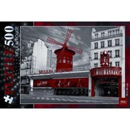 "Пазл HATBER, ""Moulin Rouge"", 500 дет."