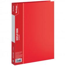 """Папка с 40 вкладышами Berlingo """"Standard"""", 21мм, 600мкм, красная"""