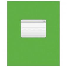 """Тетрадь 48 л., HATBER VK, клетка, обложка мелованный картон, """"ТЕТРАДЬ - Зеленая"""""""