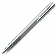 Ручка шариковая LAMY 206 logo, M16 Матовая сталь