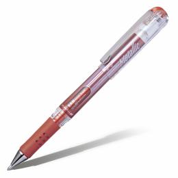 """Ручка гелевая Pentel """"Hybrid Gel"""" Grip DX бронзовая 1мм"""
