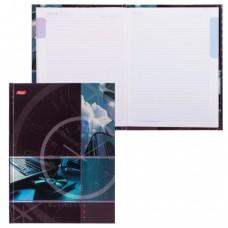 """Блокнот 7БЦ, А5, 80 л., обложка ламинированная, 5-цветный блок, HATBER, """"Современный офис"""""""