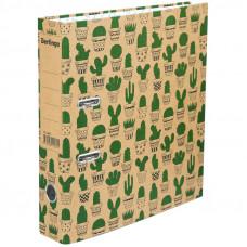 """Папка-регистратор Berlingo """"Cactus"""", 70мм, картон, с рисунком"""