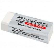 """Ластик Faber-Castell """"Dust Free"""", прямоугольный, картонный футляр, 62*21,5*11,5мм"""