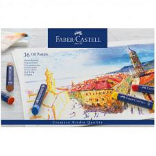 """Пастель масляная Faber-Castell """"Oil Pastels"""", 36 цветов, картон. упак."""