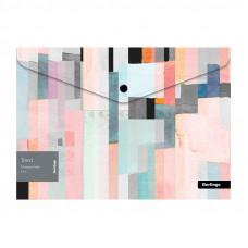 "Папка-конверт на кнопке Berlingo ""Trend"" A4, 180мкм, с рисунком"