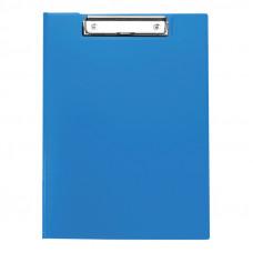 Папка-планшет с зажимом OfficeSpace А4, пластик, синий