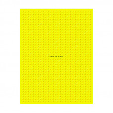 """Тетрадь на кольцах А5, 160л., BG """"Yellow points"""", матовая ламинация"""