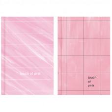 """Бизнес-блокнот А6 64л. BG """"Touch of pink"""", матовая ламинация"""