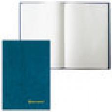 Книга учета 96 л., клетка, твердая, бумвинил, блок офсет, А4 (200х290 мм), BRAUBERG, светло-синяя