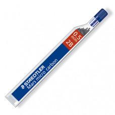 Грифели Staedtler для механических карандашей, 0,5 мм, тв.2B, 12 шт.