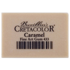 Ластик каучуковый для карандаша CretaColor Caramel 53х35х14мм