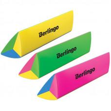 """Ластик Berlingo """"Supertwist"""", треугольный, скошенный, термопластичная резина, 80*15*15мм"""