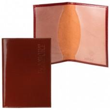 """Обложка для паспорта BEFLER """"Classic"""", натуральная кожа, тиснение """"Passport"""""""