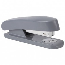 Степлер STAFF, №24/6, до 20 листов, пластиковый корпус, металлический механизм, серый
