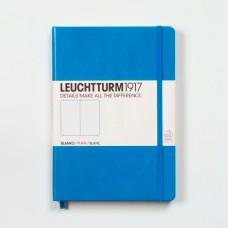 Книга для записей MEDIUM  А5, лазурный 249 стр., нелинованный , Leuchtturm1917