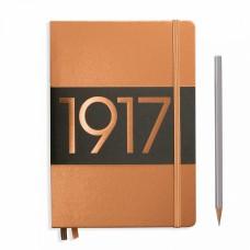 Книга для записей MEDIUM  А5, медный 249 стр., нелинованный , Leuchtturm1917