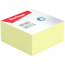 """Блок для записи Berlingo """"Standard"""", 9*9*4,5см, желтый"""