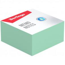 """Блок для записи Berlingo """"Standard"""", 9*9*4,5см, зеленый"""