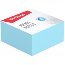 """Блок для записи Berlingo """"Standard"""", 9*9*4,5см, голубой"""