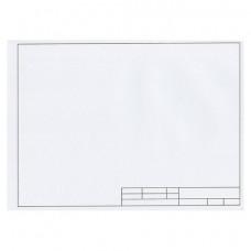 Папка для черчения А4, 210х297 мм, 10 л., ПИФАГОР, рамка с горизонтальным штампом, блок 160 г/м2