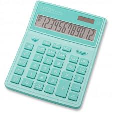 Калькулятор настольный Citizen SDC444XRGNE, 12 разрядов, бирюзовый