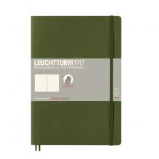 Книга для записей COMPOSITION B5 на 121 страницу в точку, ARMY. Leuchtturm1917