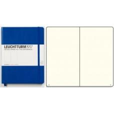 Книга для записей MEDIUM A5, голубой, 249стр., НЕЛИНОВАННЫЙ. Leuchtturm1917