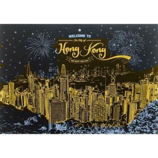 "Гравюра d.i.y. ""Hongkong"" А3 формат"