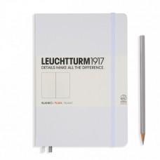 Книга для записей MEDIUM A5, белый, 249стр., НЕЛИНОВАННЫЙ. Leuchtturm1917